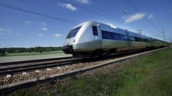 Tågresandet till Umeå ökar stort