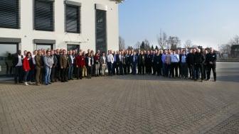 Insgesamt 64 Gäste durfte VisiConsult auf dem Firmengelände in Stockelsdorf begrüßen.