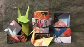 Makerspace på Kulturcentrum den 2 februari har temat Origami