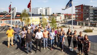 Samhällsbyggnadskontoret på Bodens kommun kan vinna fint pris. Foto: Mats Engfors/Fotographic