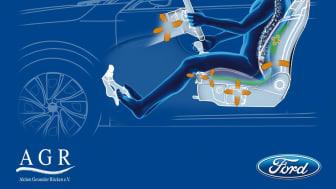 I nya Ford Focus har framsätena försetts med 18 inställningsmöjligheter som gör det möjligt att hitta den perfekta sittpositionen för varje resenär.