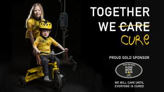 Team Rynkeby cyklar in pengar till Barncancerfonden