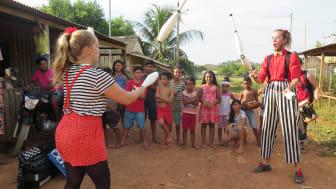 Clowner utan Gränser i Brasilien 2018