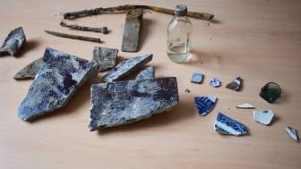 Arkeologiska fynd vid Wernerska Villan