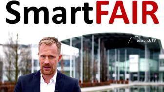 SmartFAIR - Messe 4.0 für eine digitale Nachhaltigkeit Ihres Messeauftritts.