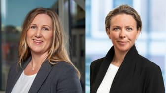 Irene Wigroth och Josefin Henriksson, kollegor som valt att komma tillbaka till oss
