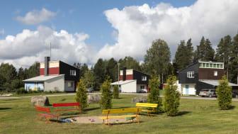 Årets Industriminne 2020. Skogsarbetarbyn i Jädraås med 18 villor byggdes 1951 efter ritningar av arkitekten Ralph Erskine.