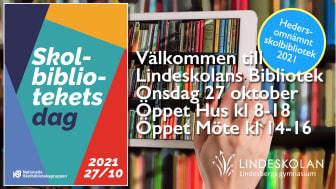 Politiker i samtal om skolbibliotek på Skolbibliotekets Dag i Lindesberg