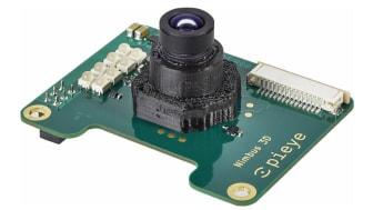 Nimbus 3D Time-of-flight-kameramodulen har en upplösning på 352 × 288 (100 k) och fungerar utmärkt i mätområdet mellan 0,1 till 3 m med en mätnoggrannhet på ±2 %.