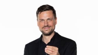 Blåsarsymfonikernas slagverkare Lauri Metsvahi. Foto: Mats Bäcker