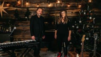 Michael Jeff Johnson och Terese Fredenwall var två av artisterna som 2020 gjorde en digital julkonsert tillsammans med Erikshjälpen.