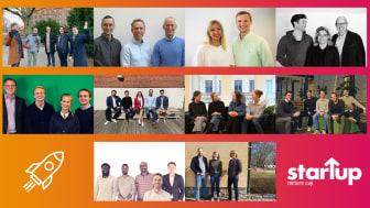 Tech och hälsa genomsyrar årets urval av finalister i STARTUP