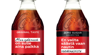 Coca-Cola tuo pulloihin paremman vuoden 2021 lupauksia