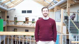 Victor Molén, CEO Indivd, är glad över att de gått vidare i tävlingen och ser fram emot sluteventet.