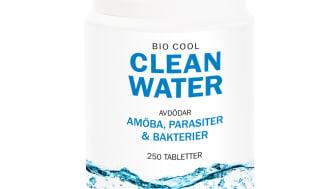 BioCool Clean Water renar dricksvatten från skadliga mikroorganismer, såsom bakterier, virus och parasiter.