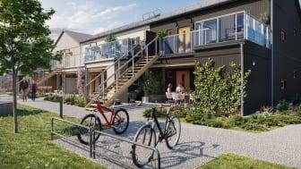 Utvecklingen av Bredvik fortsätter – nu säljstartar nya lägenheter