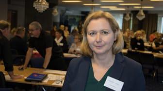 Katarzyna Wikström, projektledare för arbetet med God och nära vård i södra Lappland.