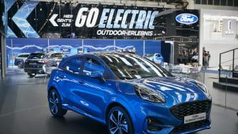 A vadonatúj Ford Puma a Frankfurt Motorshow-n
