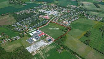Detaljplaneförslag för nytt bostadsområde i Vinninga