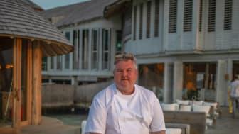 Mathias Dahlgren i restaurangen Overseas by Mathias Dahlgren