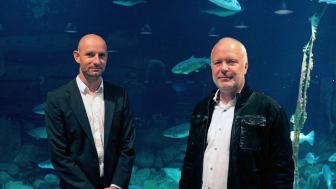 De to direktører David Dupont-Mouritzen og Christian Udby Olesen