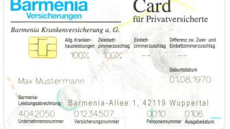Die Barmenia-Card für Privatversicherte