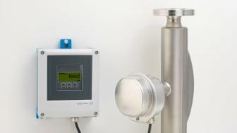 Standardkabel mellan mätrör och förstärkare ger förenklad installation Foto: Endress+Hauser