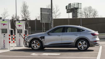 Audi e-tron Sportback opladning
