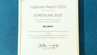 NO LIMITS! unter den Top Ten des LupoLeo Awards