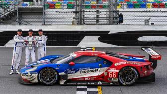Újabb Ford GT győzelem Daytonában