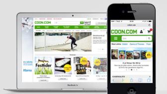 CDON.com lanserar ny mobilsajt