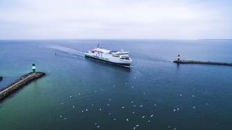 """Scandlines Hybridfähre """"Copenhagen"""" bald mit Windantriebstechnologie unterwegs"""