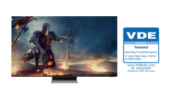 [Photo] Neo QLEDs Receive Industry First Gaming TV Performance Certification from VDE 3