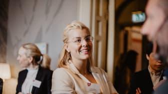 Sara Damber under Friends seminarium Kraftsamling mot mobbning 2019