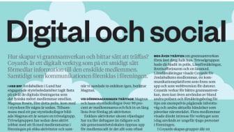 Det digitala verktyget CoYards hjälper till att öka grannsamverkan i Lund