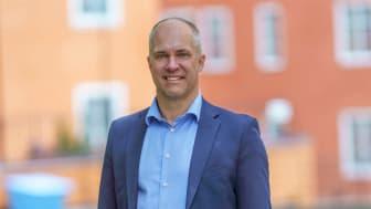 Martin Svensson, säljdirektör på Interxion i Norden