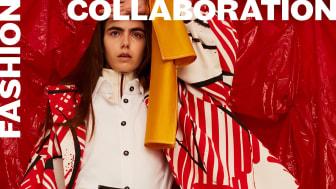 Modekommunikation, studenter i visuell kommunikation, design Angelica Eichler. Foto Cornelia Wahlberg