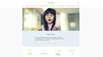 Barnehagestiftelsen Kanvas lanserer ny og brukervennlig nettside