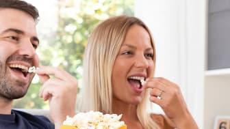 Popcornskål i mikron-smartasaker