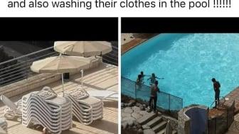 Marina Starkey Illegals washing in the pool.jpg