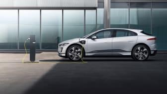Hurtigere opladning til prisvindende Jaguar I-PACE