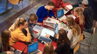 Över 700 ungdomar söker till De la Gardiegymnasiet