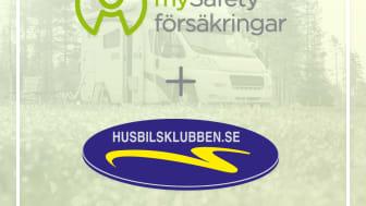 mySafety i samarbete med Husbilsklubben