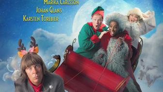 Efter framgången på Dalhalla – Humorkalaset Christmas åker ut på julturné