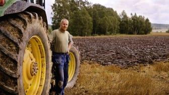 Genrebild, lantbrukare. Foto: Scandinav bildbyrå.