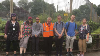 Red2Green learners enjoyed a train trip to Shepreth Wildlife Park as part of Great Northern's Try a Train experience