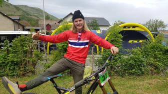 Brage Vestvik fornøyd med 8. plass.
