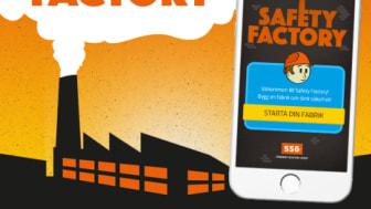 SSG har tillsammans med den digitala innovationsbyrån Sticky Beat tagit fram ett mobilspel som ska minska andelen olyckor inom industrin.