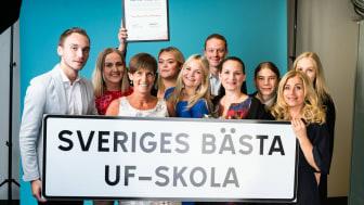 Thoren Business School Helsingborg utsågs till Sveriges bästa UF-skola- Bild: Ung Företagsamhet