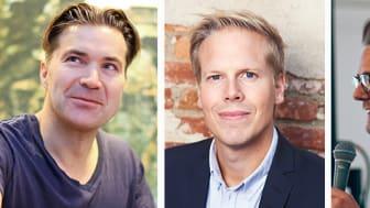Grundare av Spotify, Let's deal och Fooball addicts blir ambassadörer för nya Chalmers Ventures